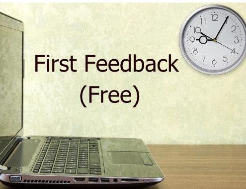 First Feedback (Free)